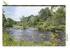 Carry-all Pouch featuring the photograph Beauty Of Nature by John M Bailey