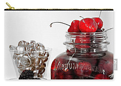 Beauty Of Red Cherries Carry-all Pouch