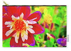 Beauty Of The Flower Carry-all Pouch by Joe Burns
