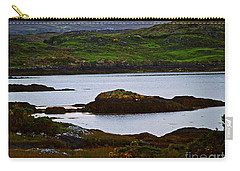 Carry-all Pouch featuring the photograph Beauty On The Rocks by Patricia Griffin Brett