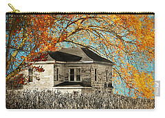 Beauty Surrounds Deserted Home Carry-all Pouch