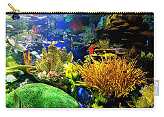 Carry-all Pouch featuring the photograph Beauty Under The Sea by Kelly Mills