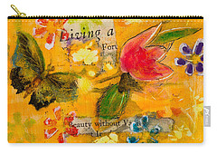 Beauty Without Vanity Carry-all Pouch