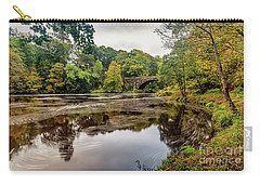 Beaver Bridge Autumn Carry-all Pouch by Adrian Evans