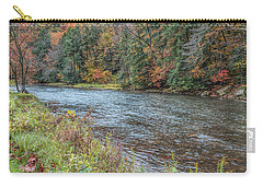Carry-all Pouch featuring the photograph Beaver Creek by John M Bailey