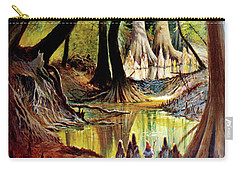 Beaver Dam On Village Creek Carry-all Pouch