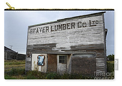Beaver Lumber Company Ltd Robsart Carry-all Pouch by Bob Christopher