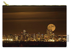 Beaver Moonrise Carry-all Pouch by Kristal Kraft