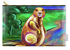 Beaver Pose Carry-all Pouch