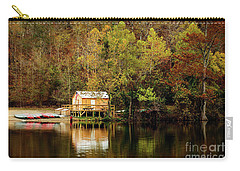 Beaver's Bend Canoe Hut Carry-all Pouch