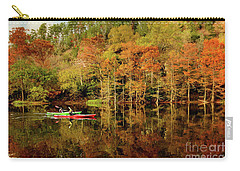 Beaver's Bend Canoeing Carry-all Pouch by Tamyra Ayles