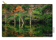 Beaver's Bend Color Explosion Carry-all Pouch by Tamyra Ayles