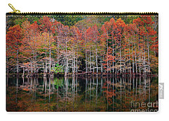 Beaver's Bend Cypress Soldiers Carry-all Pouch by Tamyra Ayles