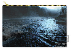 Beaver's Bend Fog Carry-all Pouch by Tamyra Ayles