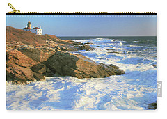 Beavertail Point And Lighthouse  Carry-all Pouch