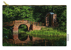 Beckerbruch Bridge Reflection Carry-all Pouch by Martina Thompson