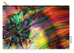 Carry-all Pouch featuring the digital art Bedazzle by Kiki Art