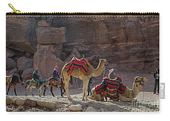Bedouin Tribesmen, Petra Jordan Carry-all Pouch