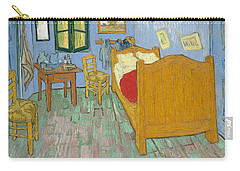 Carry-all Pouch featuring the painting Bedroom At Arles by Van Gogh
