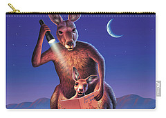 Bedtime For Joey Carry-all Pouch by Jerry LoFaro