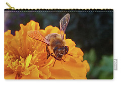 Bee And Marigold Carry-all Pouch