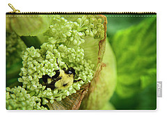 Bee At Work Carry-all Pouch by Alana Ranney