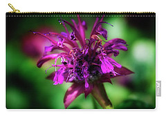 Bee Balm Beauty Carry-all Pouch by Chrystal Mimbs