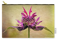 Bee Balm With A Vintage Touch Carry-all Pouch