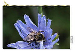 Bee Flower Carry-all Pouch by Nikki McInnes