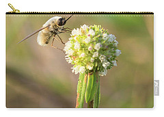 Bee Fly On A Wildflower Carry-all Pouch