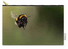 Bee Flying - View From Front Carry-all Pouch