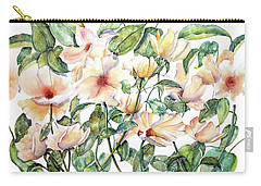 Bee Happy Carry-all Pouch by Debbie Lewis