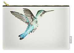Bee Hummingbird Carry-all Pouch