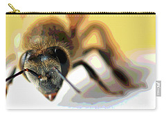 Bee In Macro 5 Carry-all Pouch