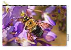 Bee In Spring Carry-all Pouch