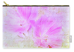 Bee Kind Carry-all Pouch by Kathi Mirto