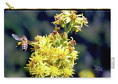 Bee On Goldenrod Carry-all Pouch