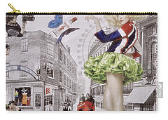 Beefeater Gin Carry-all Pouch by Mary Machare
