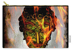 Carry-all Pouch featuring the photograph Beelzebub Iv by Al Bourassa