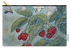 Bees Berries And Blooms Carry-all Pouch