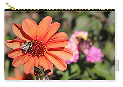 Bees-y Day Carry-all Pouch by Jason Nicholas