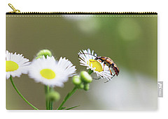 Beetle Daisy Carry-all Pouch
