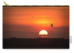 Before The Setting Sun Carry-all Pouch