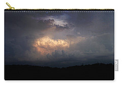 Carry-all Pouch featuring the photograph Before The Storm by Cynthia Lassiter
