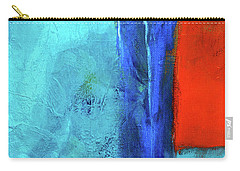 Carry-all Pouch featuring the painting Before The Wedding by Nancy Merkle