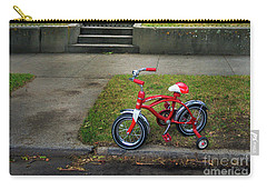Carry-all Pouch featuring the photograph Beginners Bicycle by Craig J Satterlee