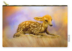 Beginning Fawn  Carry-all Pouch