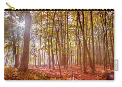 Beginning Of Fall Carry-all Pouch by Rima Biswas
