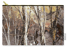 Carry-all Pouch featuring the painting Beginning by Tatiana Iliina