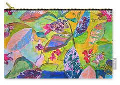 Begonias Carry-all Pouch